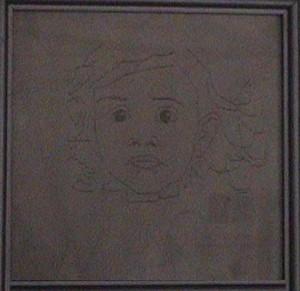 Larissa Lanza (Primer dibujo en ordenador)